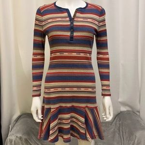 Ralph Lauren Vintage Thermal Southwest Dress